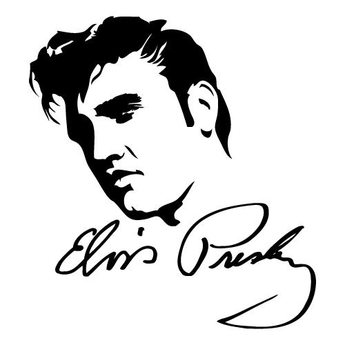 Elvis Line Draw... Elvis Jailhouse Rock Movie